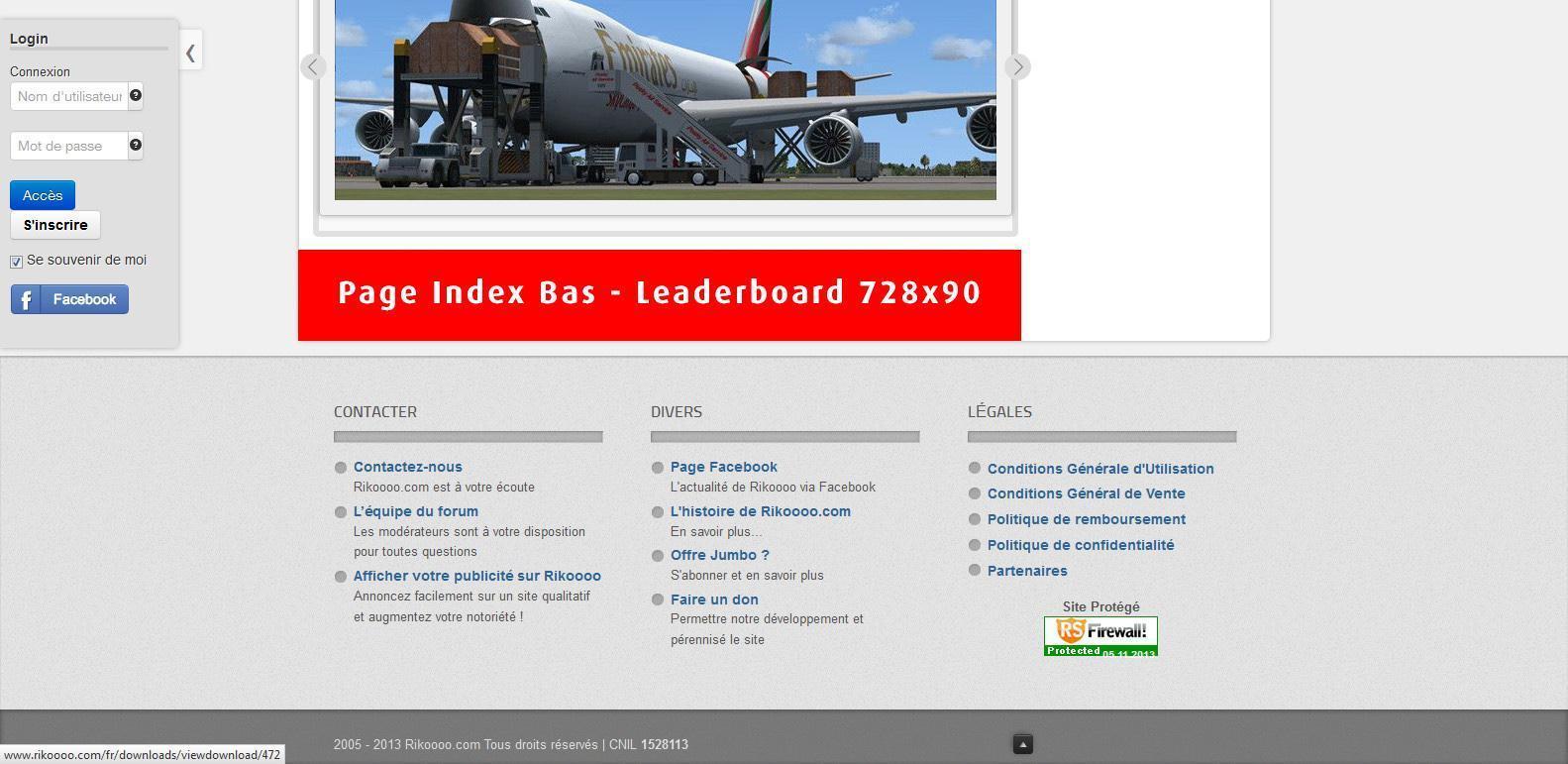 Accueil - Bas - Leaderboard 728x90