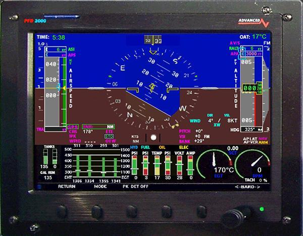 Isi Flight Display 2000