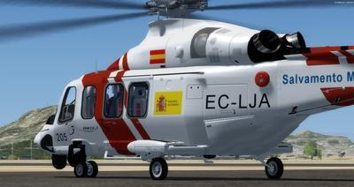 AgustaWestland AW139 SAR FSX P3D  3