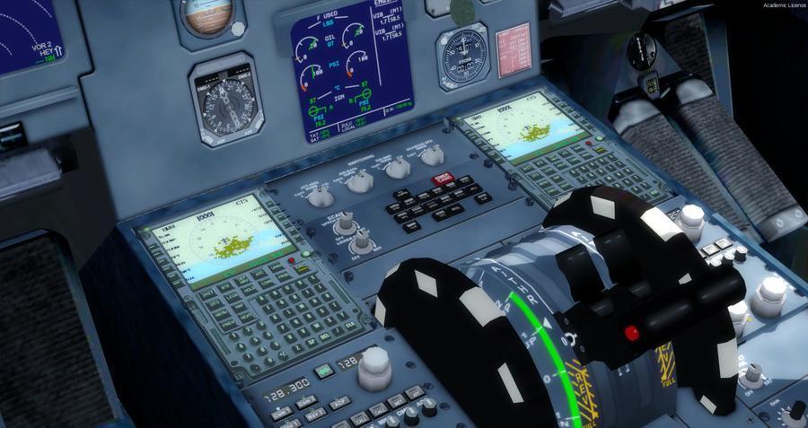 Airbus A320 214 Swiss FSX P3D FMC