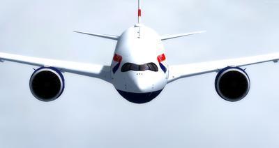Airbus A350 1000 XWB CamSim FSX P3D  11