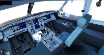 Airbus A350 1000 XWB CamSim FSX P3D  7
