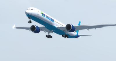 Airbus A350 1000 XWB CamSim FSX P3D 9