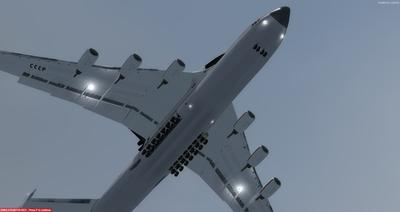 Antonov 225 Space Shuttle FSX P3D 2