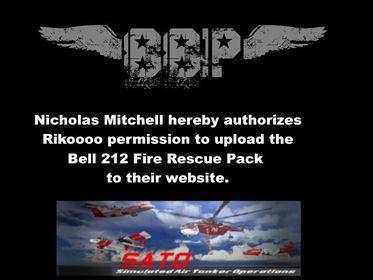 Permission Rikoooo Bell 212 Fire