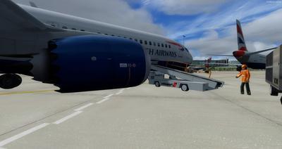 波音737 MAX8多用途 FSX P3D  2