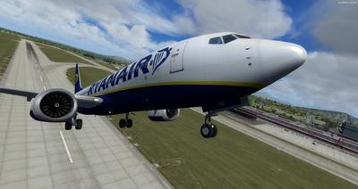 波音737 MAX8多用途 FSX P3D  28