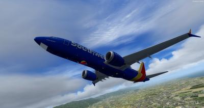 波音737 MAX8多用途 FSX P3D  33