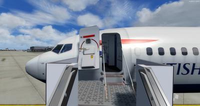 Boeing 737 MAX8 Multi Livery FSX P3D 7