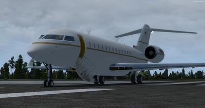 Bombardier Global Express XRS FSX P3D  1