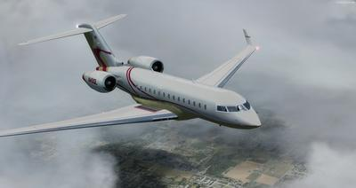Bombardier Global Express XRS FSX P3D 10