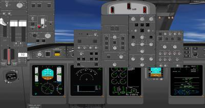 Bombardier Global Express XRS FSX P3D  13