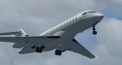 Bombardier Global Express XRS FSX P3D  4