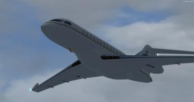 Bombardier Global Express XRS FSX P3D 5