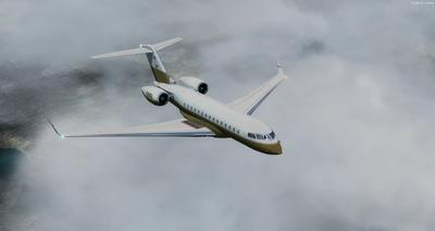 Bombardier Global Express XRS FSX P3D 7