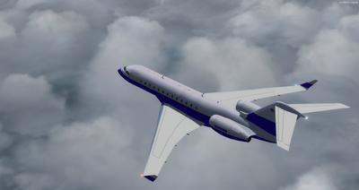 Bombardier Global Express XRS FSX P3D  8