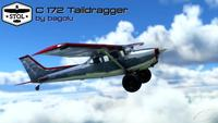 Cessna 172 Tail dragger MSFS 2020 5