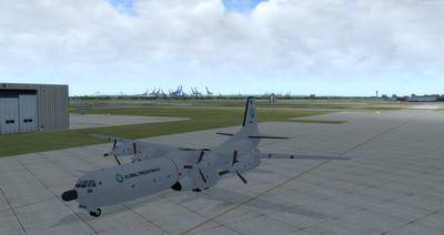 Douglas C 133B Cargomaster Ua Haujlwm 2.0 FSX P3D  10