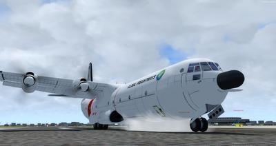 Douglas C 133B Cargomaster Ua Haujlwm 2.0 FSX P3D  13