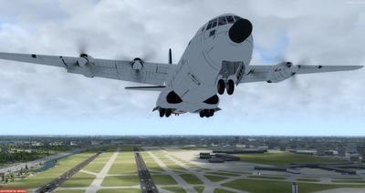 Douglas C 133B Cargomaster Ua Haujlwm 2.0 FSX P3D  14