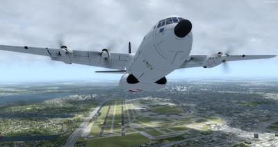 Douglas C 133B Cargomaster přepracován 2.0 FSX P3D  15