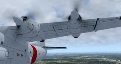 Douglas C 133B Cargomaster Ua Haujlwm 2.0 FSX P3D  18