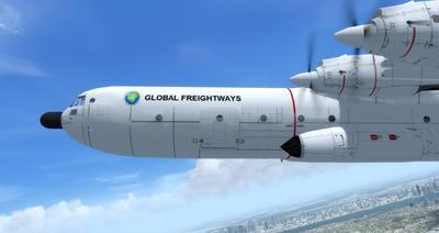 Douglas C 133B Cargomaster Ua Haujlwm 2.0 FSX P3D  19
