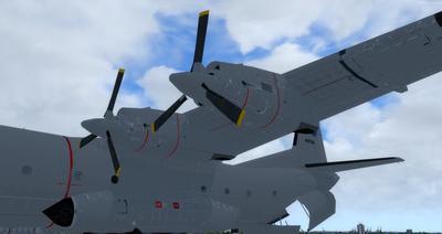 Douglas C 133B Cargomaster přepracován 2.0 FSX P3D  2