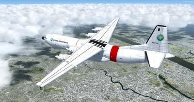 Douglas C 133B Cargomaster Reworked 2.0 FSX P3D 20