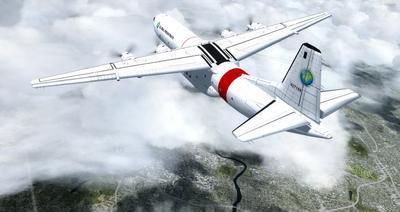 Douglas C 133B Cargomaster přepracován 2.0 FSX P3D  21