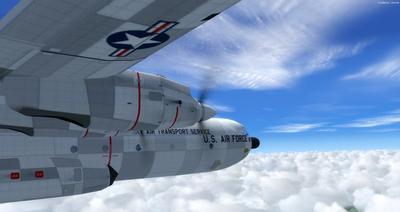 Douglas C 133B Cargomaster Ua Haujlwm 2.0 FSX P3D  23