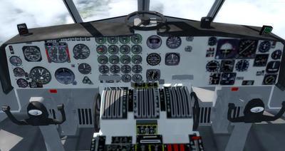 Douglas C 133B Cargomaster přepracován 2.0 FSX P3D  27
