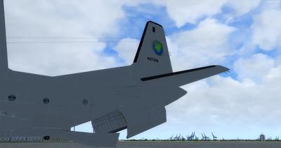 Douglas C 133B Cargomaster přepracován 2.0 FSX P3D  3