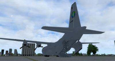 Douglas C 133B Cargomaster Ua Haujlwm 2.0 FSX P3D  4