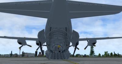 Douglas C 133B Cargomaster přepracován 2.0 FSX P3D  5