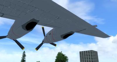 Douglas C 133B Cargomaster přepracován 2.0 FSX P3D  7