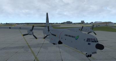 Douglas C 133B Cargomaster Ua Haujlwm 2.0 FSX P3D  8