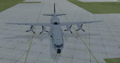 Douglas C 133B Cargomaster Reworked 2.0 FSX P3D 9