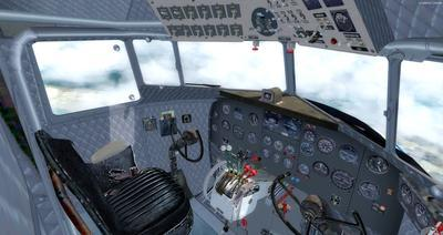 Douglas DC 3 Enhanced FSX P3D  19