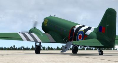 Douglas DC 3 Enhanced FSX P3D  3