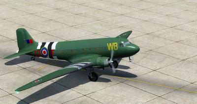 Douglas DC 3 Enhanced FSX P3D  6