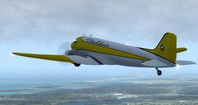 Douglas DC 3 Enhanced FSX P3D  8