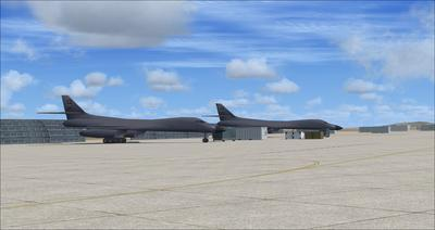 Edwards Air Force Base KEDW Photoreal FSX P3D 1