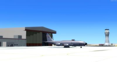 Bonn Air Force Edwards KEDW Photoreal FSX P3D  11