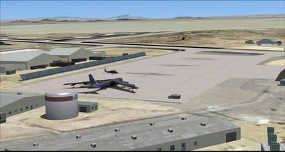 Edwards Air Force Base KEDW Photoreal FSX P3D 12