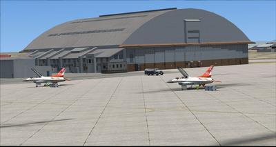 Bonn Air Force Edwards KEDW Photoreal FSX P3D  14