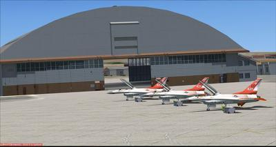 Bonn Air Force Edwards KEDW Photoreal FSX P3D  15