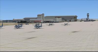 Edwards Air Force Base KEDW Photoreal FSX P3D 16
