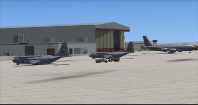 Edwards Air Force Base KEDW Photoreal FSX P3D 17