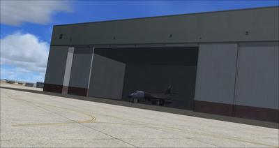 Edwards Air Force Base KEDW Photoreal FSX P3D 2